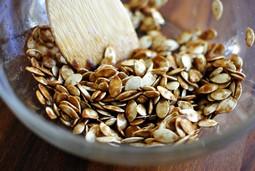 Тыквенное зерно и мед