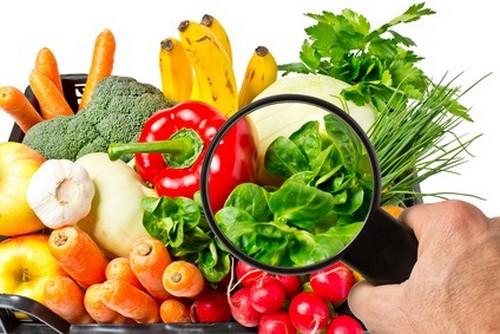грязные овощи