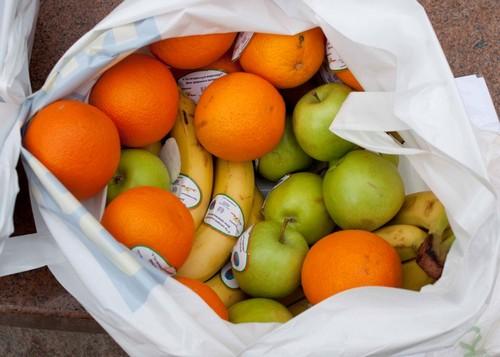 не мытые фрукты