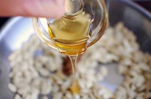 касторовое масло и семя тыквы